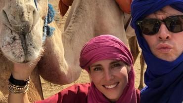 Asyiknya Chris Hemsworth Liburan Bareng Keluarga di Maroko