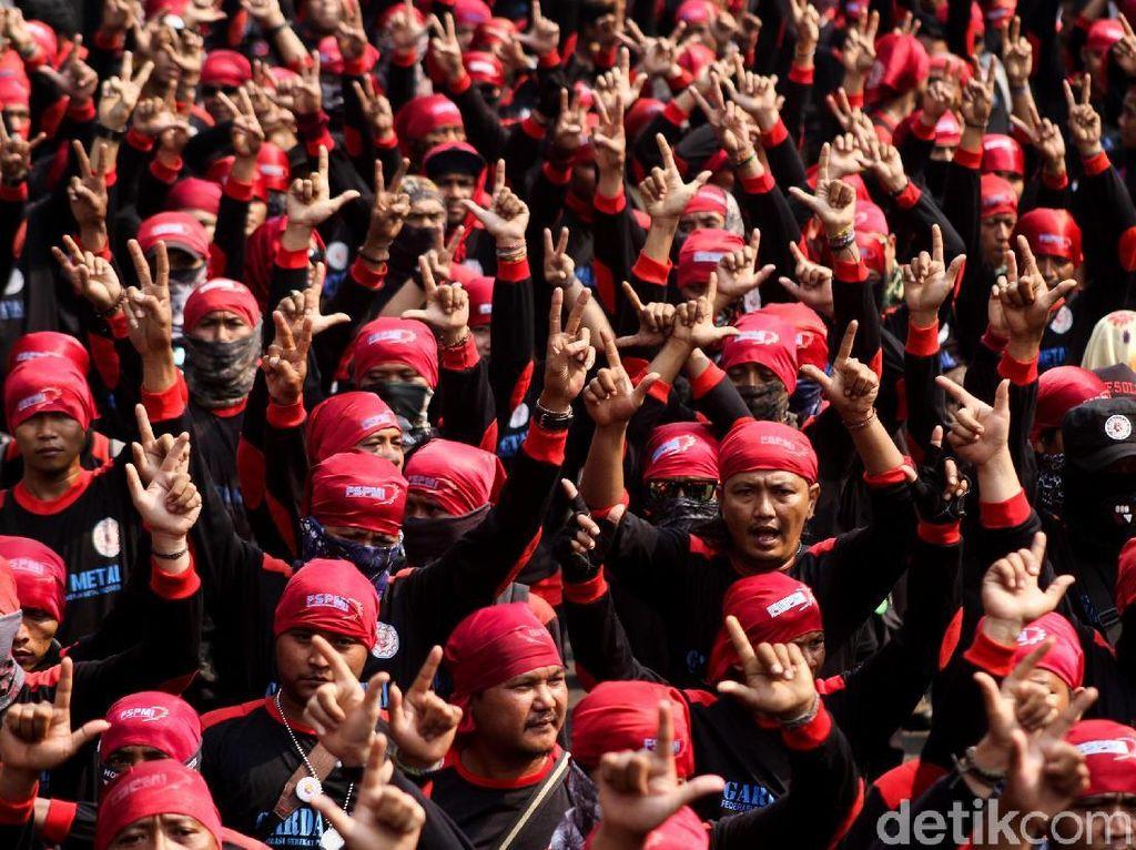 Polisi akan Kawal 4.300 Buruh Bekasi yang ke Jakarta Besok