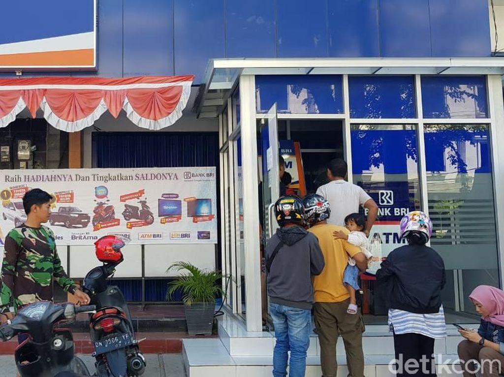 Pasca Gempa dan Tsunami, ATM BRI di Palu Sudah Bisa Digunakan