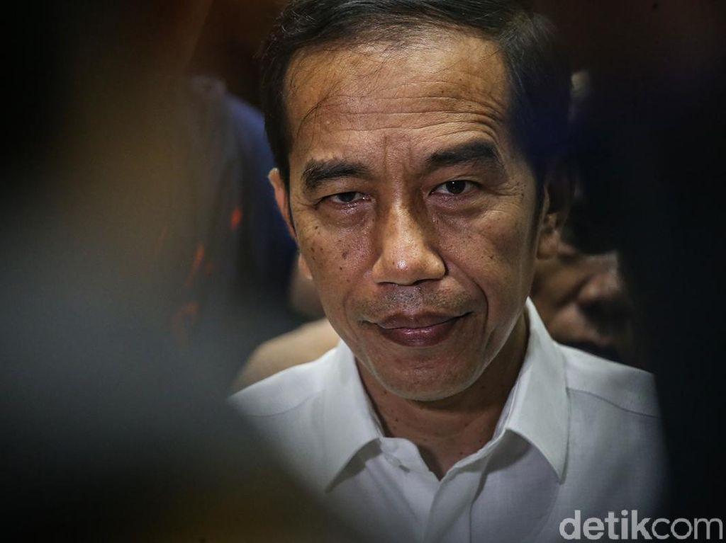 Jokowi Sebut Genjot Infrastruktur Bukan Karena Politik