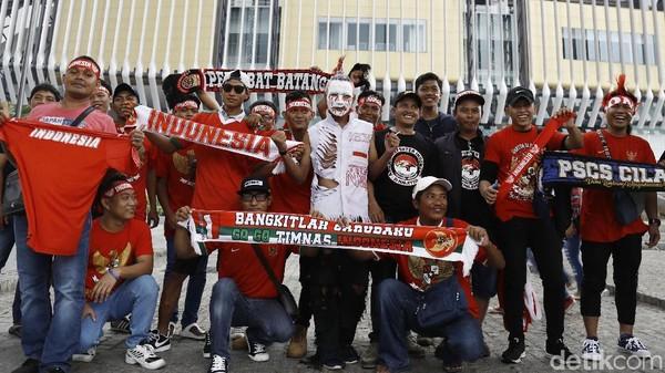 Jelang Indonesia Vs Australia, Bukit Jalil Memerah
