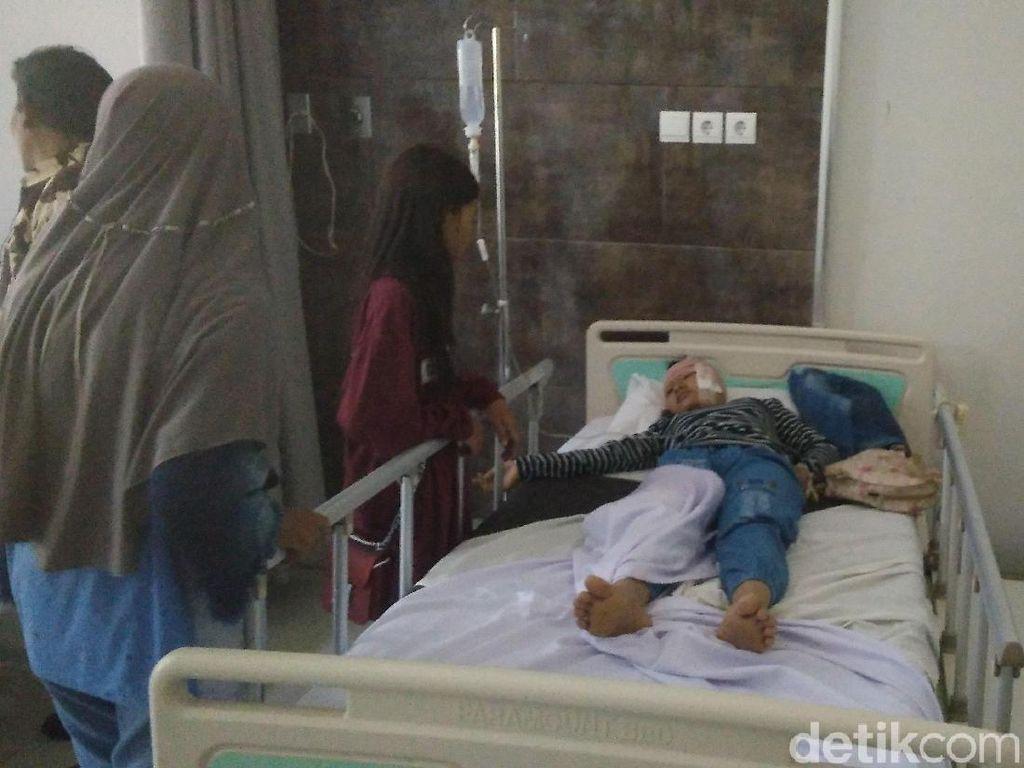 Detik-detik Bus Rombongan Siswa SMP Kecelakaan di Tol Brebes