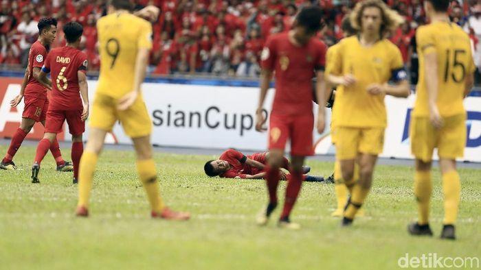 Timnas Indonesia kalah dari Australia di perempatfinal Piala Asia U-16 (Dikhy Sasra/detikSport)