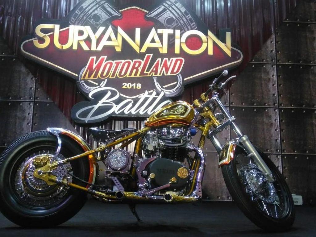 Brong-brong, Motor Batik Jadi yang Terbaik di Suryanation Seri-7