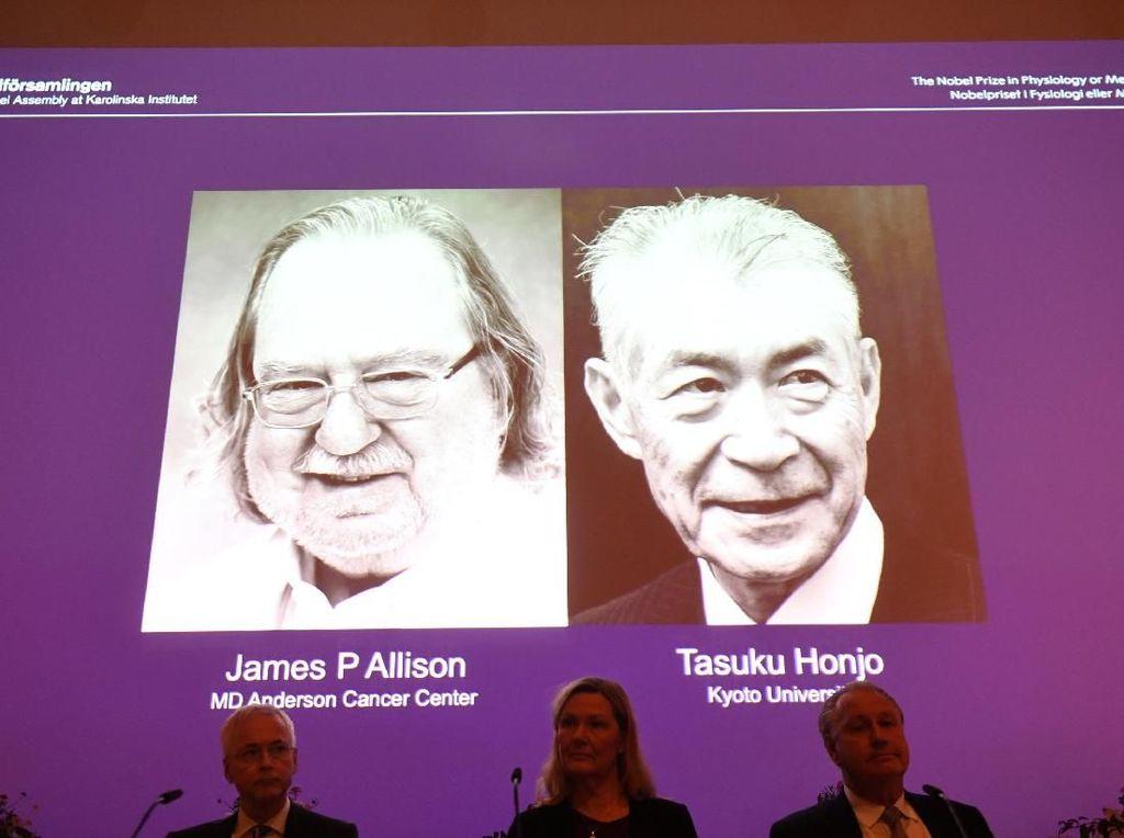 Ahli Imunologi Jepang dan AS Raih Nobel Kedokteran untuk Terapi Kanker
