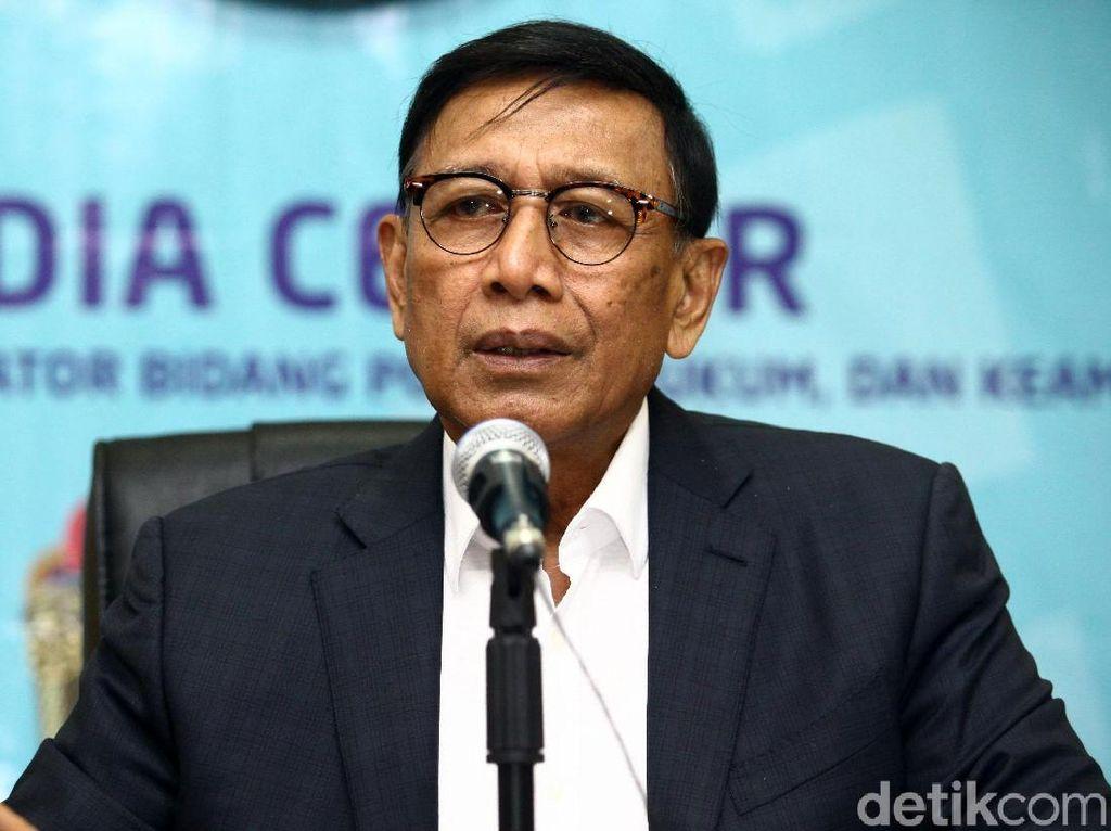 Pakar Tim Hukum Bentukan Wiranto Mulai Kaji Aksi-aksi Inkonstitusional