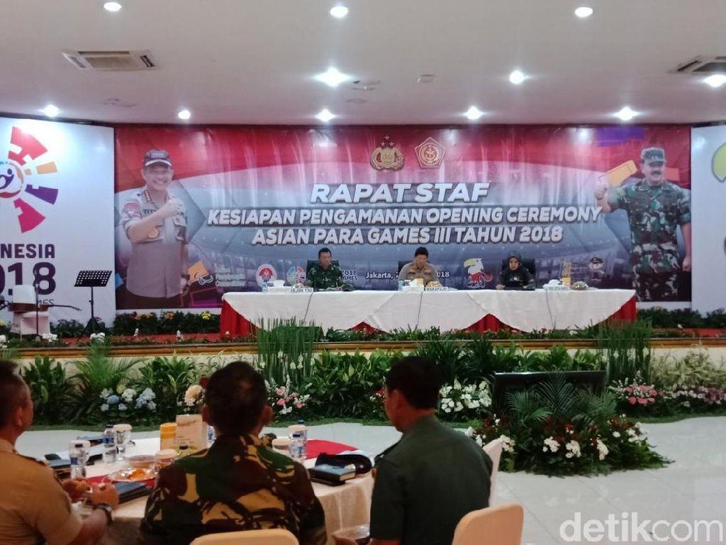 Wakapolri hingga Sylviana Murni Rapat Pengamanan Asian Para Games