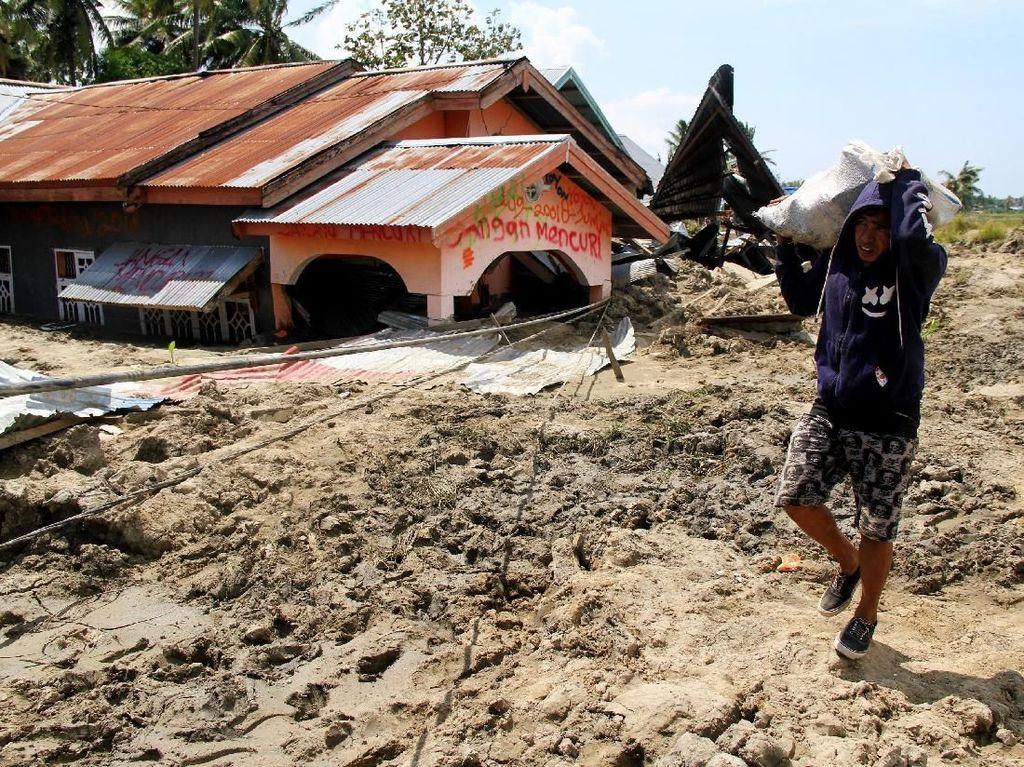 Data Terbaru BNPB: 1.407 Orang Meninggal Akibat Gempa-Tsunami Sulteng