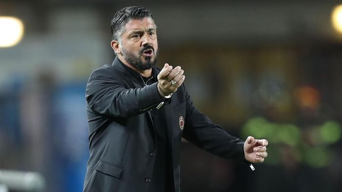 Gennaro Gattuso ungkap rekan setim dan lawan idaman. (Foto: Gabriele Maltinti/Getty Images)