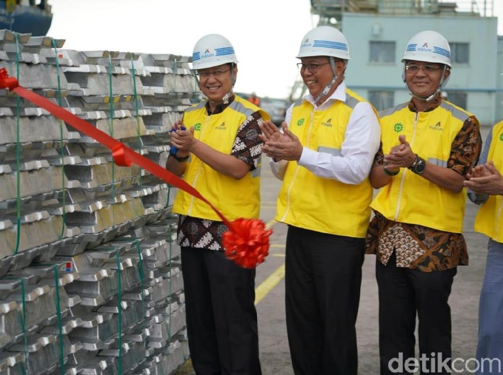 Holding BUMN Tambang Targetkan Ekspor Rp 37 Triliun di 2018