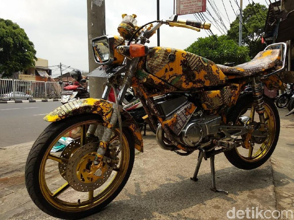Yamaha RX-King Berbaju Batik Ini Dijual, Siapa Mau Beli?