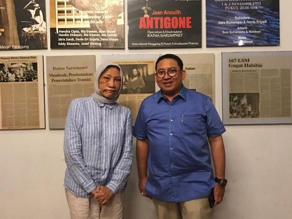 Menyandingkan Cerita Ratna Sarumpaet dan Fadli soal Hoax Penganiayaan