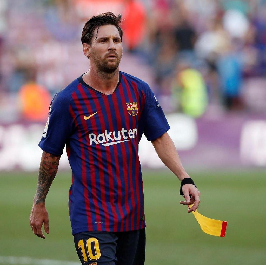 Barcelona Ikut Bela Messi dari Kritikan Maradona