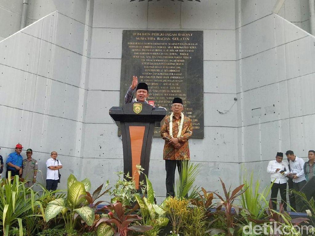 Jabat Gubernur, Herman Deru Siap Bantu Jokowi di Sumsel