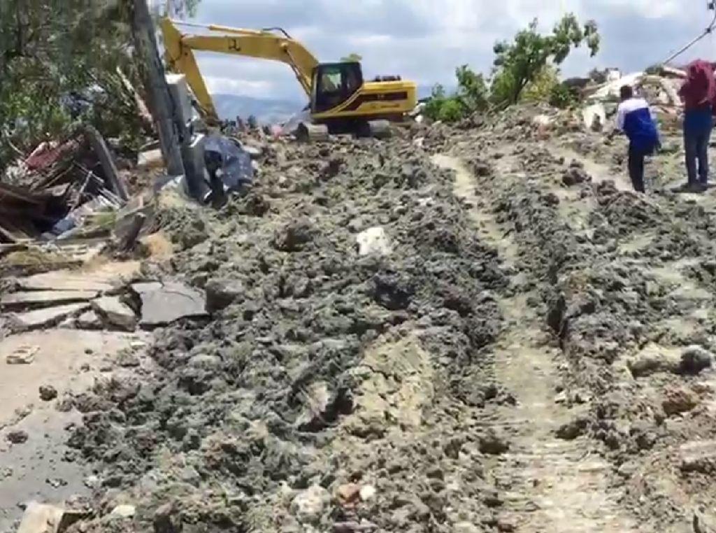 Medan Berlumpur Persulit Gerak Pencarian di Balaroa