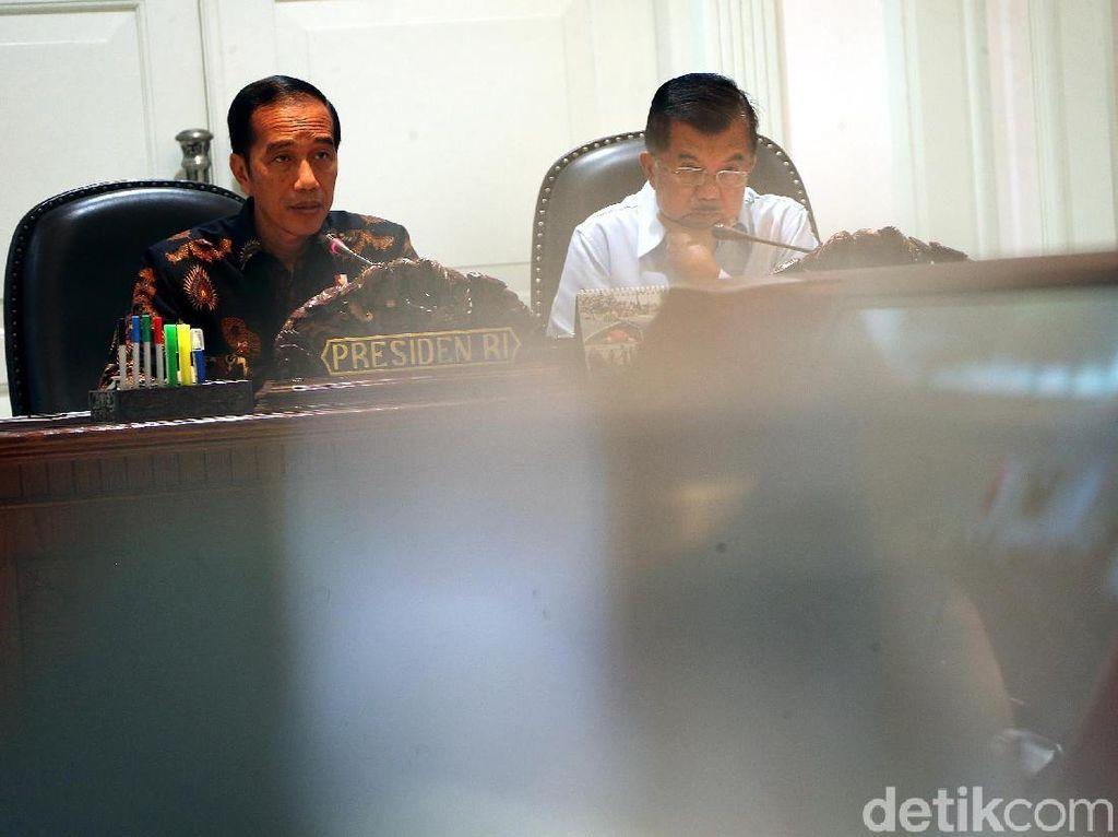 Jokowi Pimpin Ratas Bahas Penanganan Bencana di Palu