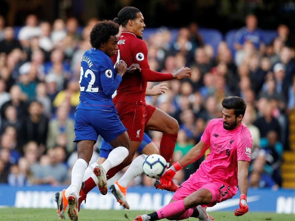 Liverpool Sedang Bagus di Kandang, Willian Antusias Sambangi Anfield