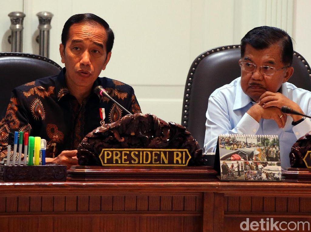 KPK Sita Duit di Laci Menag, Jokowi: Beri KPK Kewenangan Penuh Periksa Kasus