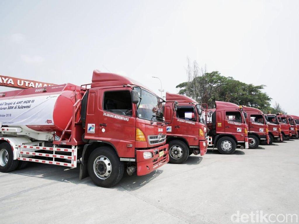 Kendaraan Bantuan Gempa Sulteng Bisa Isi BBM Bayar Belakangan