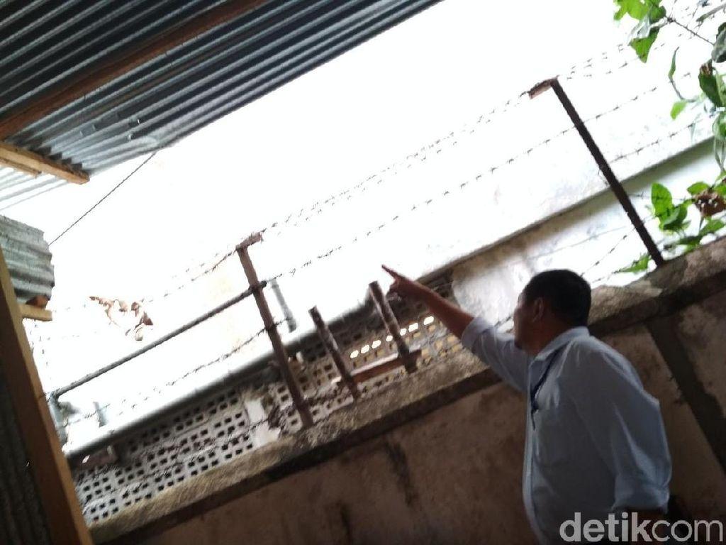 Melihat Lebih Dekat TKP Bayi Dibuang dari Lantai 3 Mal di Magelang