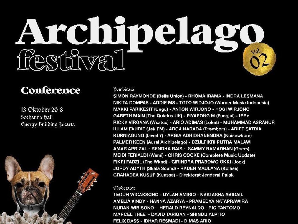 17 Topik Konferensi di Archipelago Festival 2018