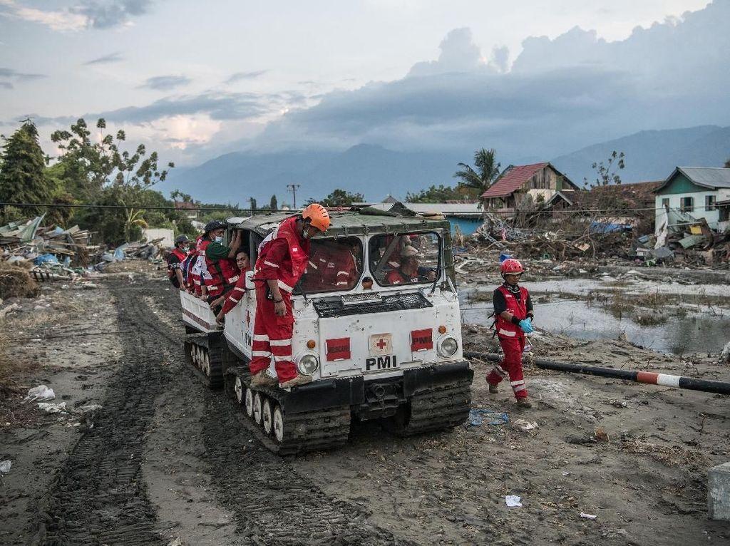 4 Hari Usai Gempa-Tsunami Palu, Proses Evakuasi Korban Terus Berlanjut