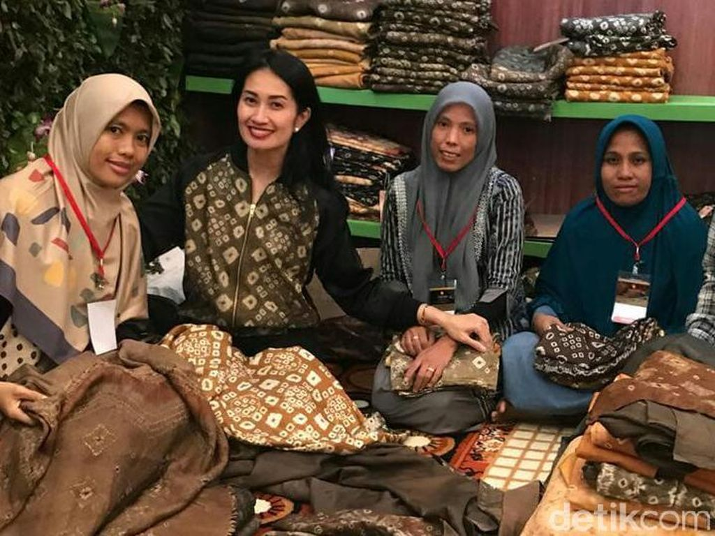 Batik Gambo Asal Muba yang Kekinian & Mulai Mendunia