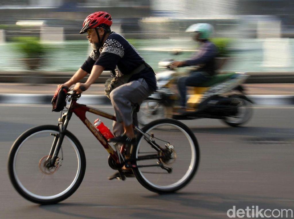 Saran Komunitas Gowes Supaya Kualitas Udara Jakarta Membaik
