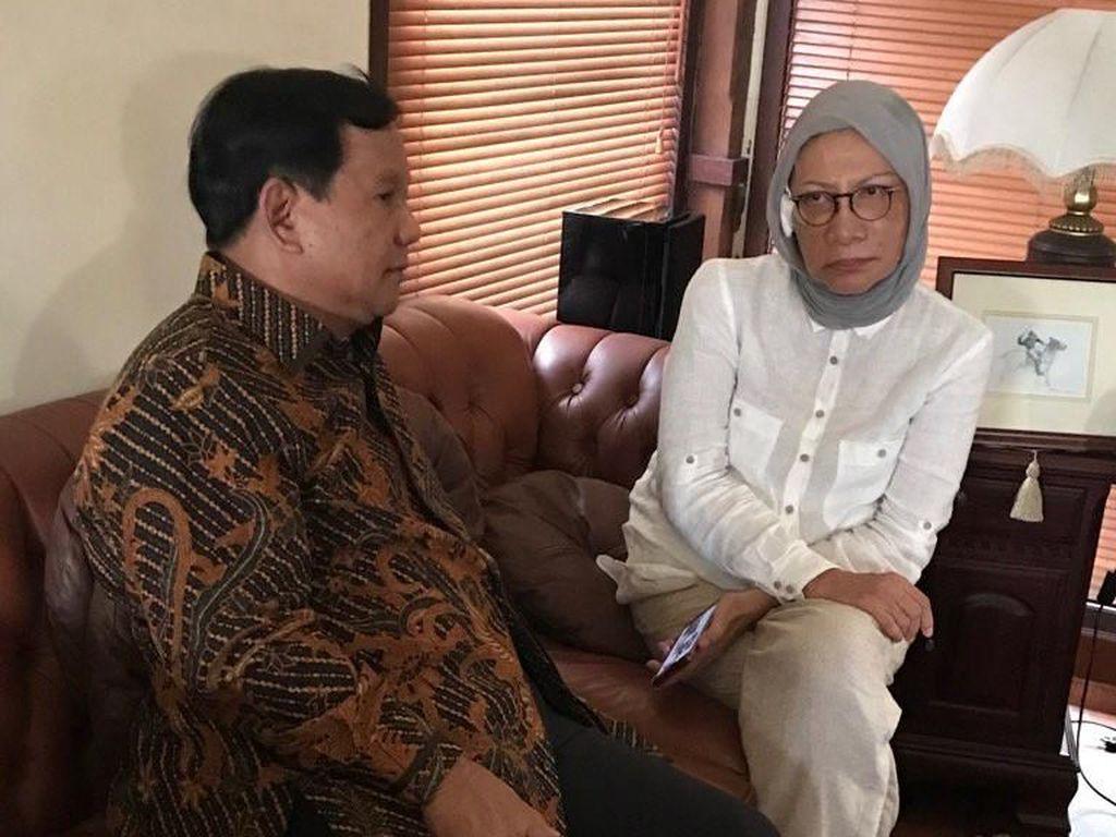 Hanura: Ayah Prabowo dan Ayah Ratna Sarumpaet Bersahabat