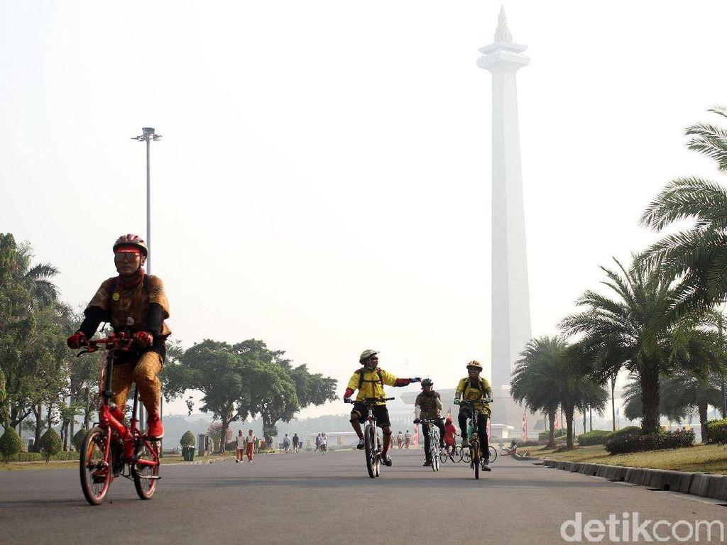 Jelang Akhir Tahun, Komunitas Sepeda Ramaikan Last Sunday Ride 2019