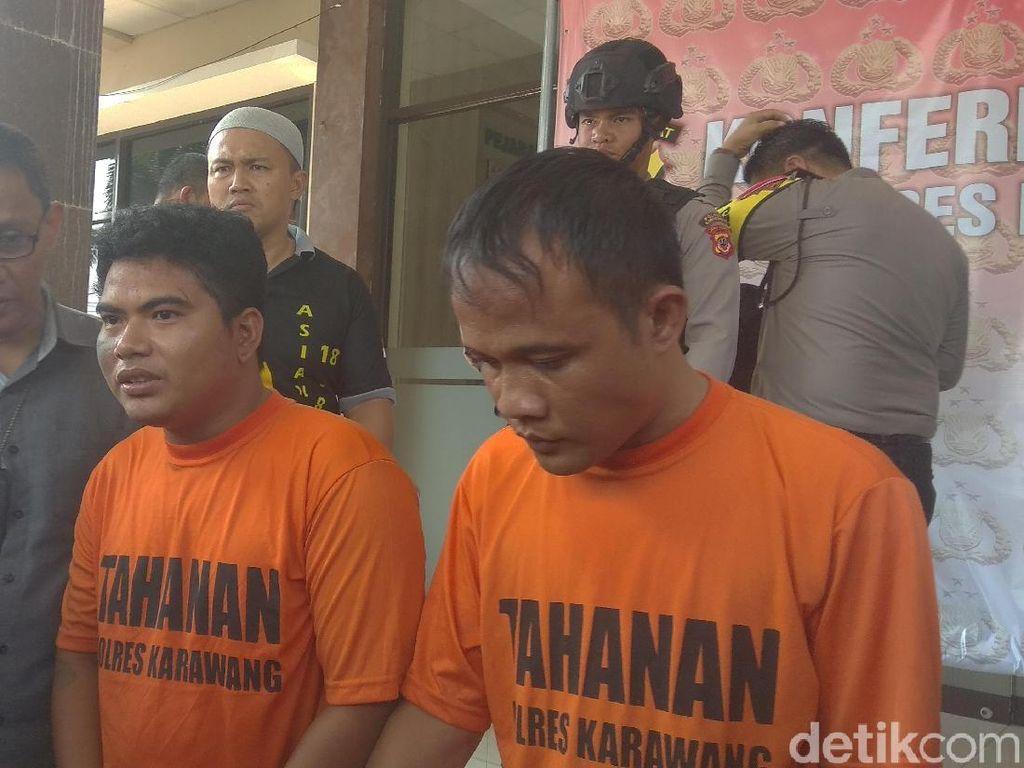 Polisi Karawang Gagalkan Perampokan Dana BOS