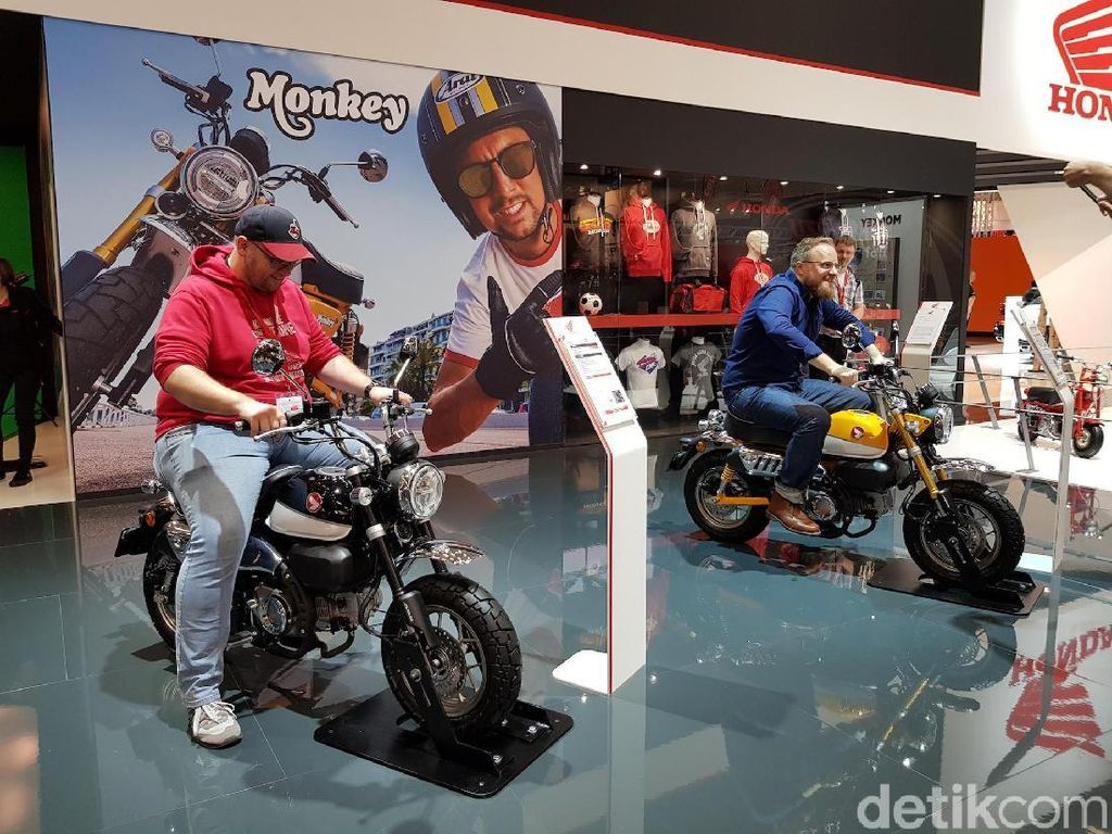 Motor Honda yang Imut dan Garang di Intermot 2018