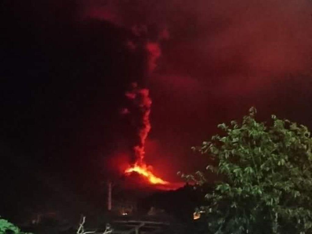 Gunung Soputan Meletus Lagi, BNPB: Status Siaga