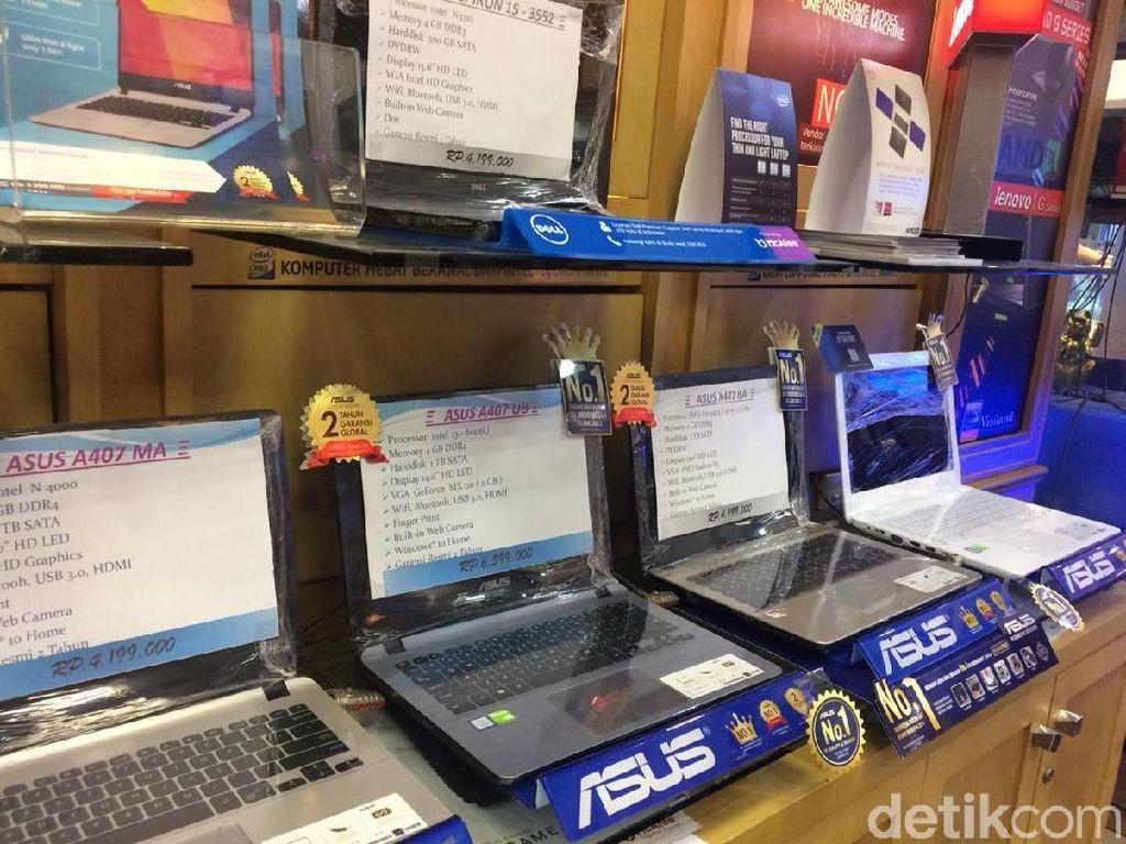Harga Laptop Naik Rp 200.000 Gara-gara Dolar AS Tembus Rp 15.000
