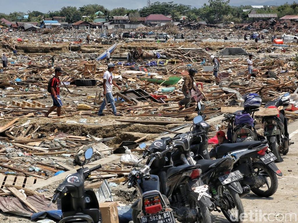 Wiranto: 1.648 Jenazah Korban Gempa-Tsunami Sulteng Dimakamkan