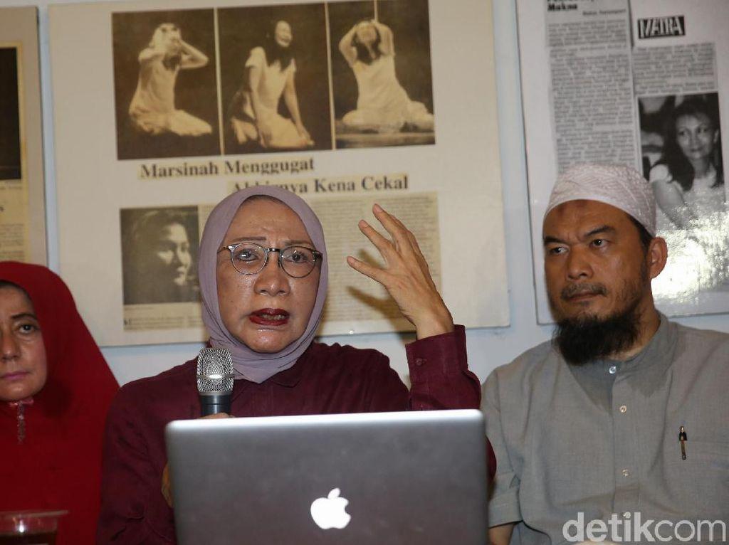 Video: Momen Ratna Sarumpaet Terbata-bata Minta Maaf ke Prabowo