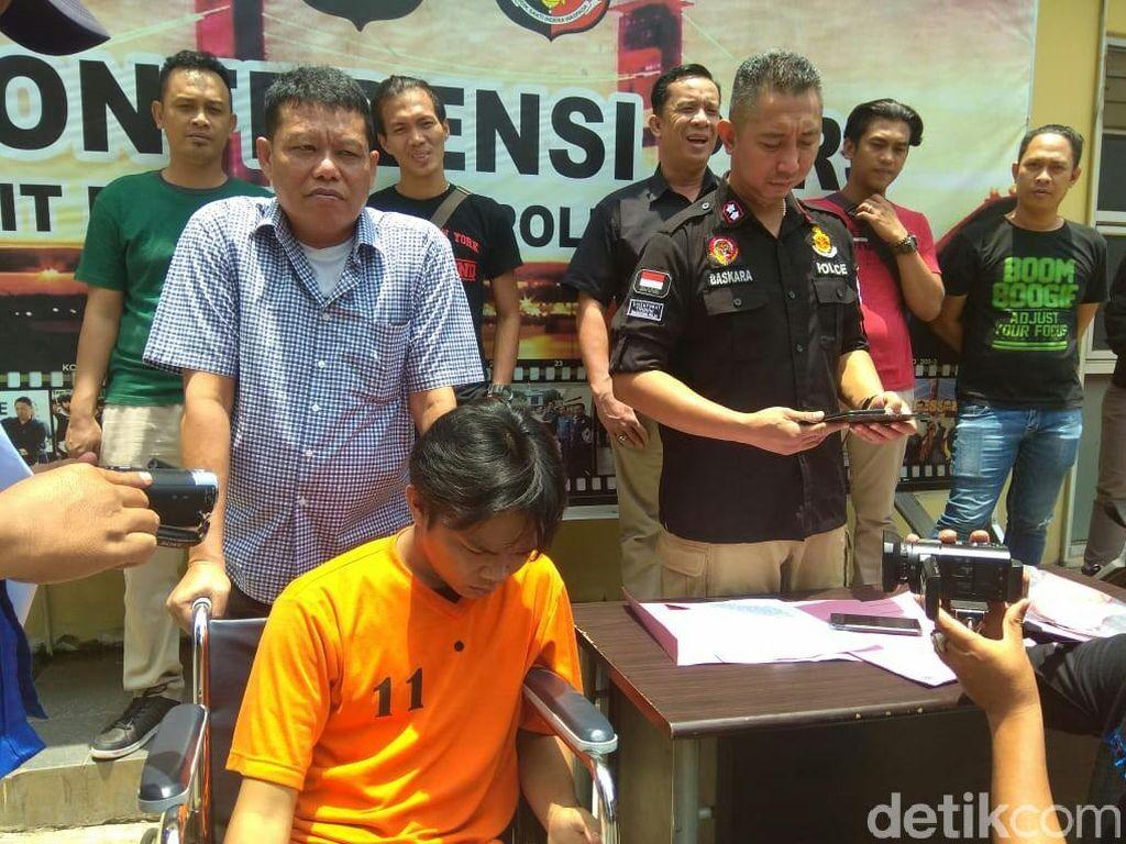 Bos Begal yang Tewaskan Siswa di Palembang Ditangkap