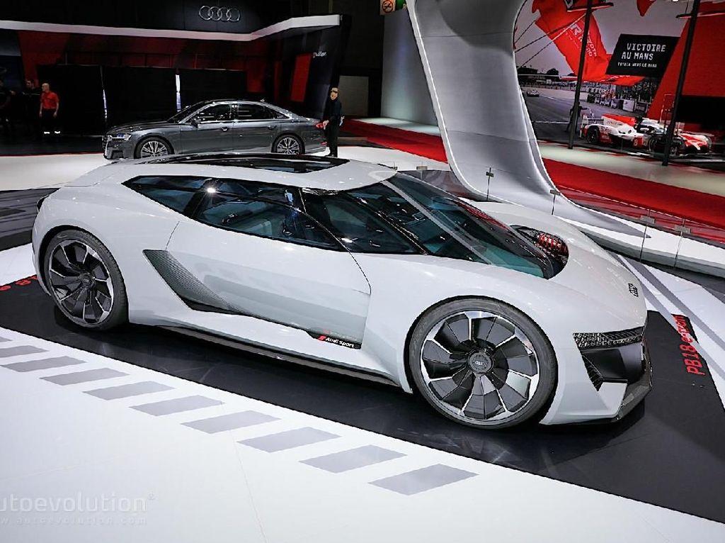 Mobil Listrik Tanpa Buntut Audi