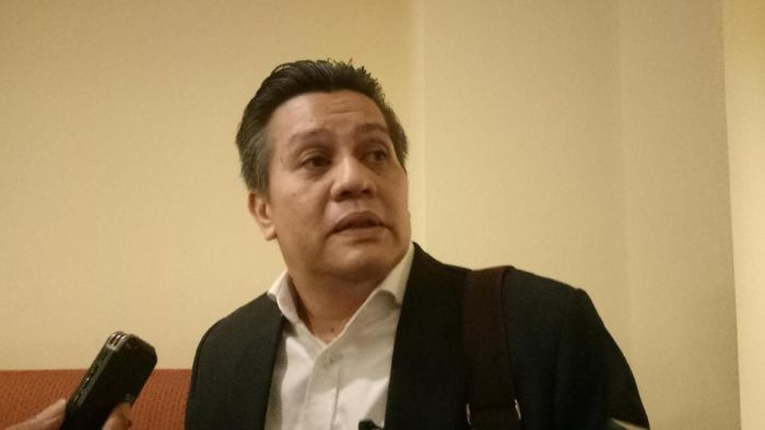 Gusti Randa mengungkapkan Kongres Luar Biasa PSSI besar kemungkinan digelar usai Pilpres 2019 (Amalia Dwi Septi/detikSport)