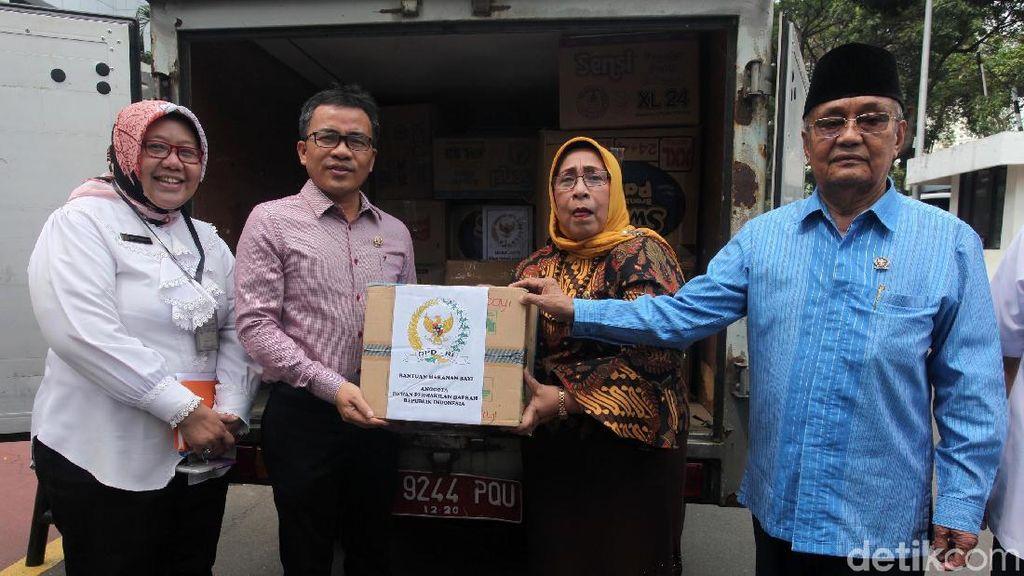 DPD Kirim Bantuan untuk Korban Gempa Palu dan Donggala