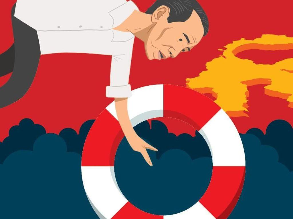 Ini Aksi Jokowi Pasca Gempa dan Tsunami Sulteng
