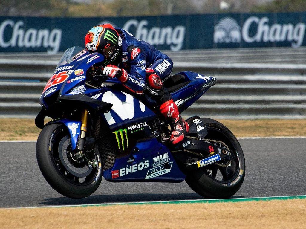 Kalahkan Marquez, Vinales Tercepat di Latihan Bebas III MotoGP Malaysia