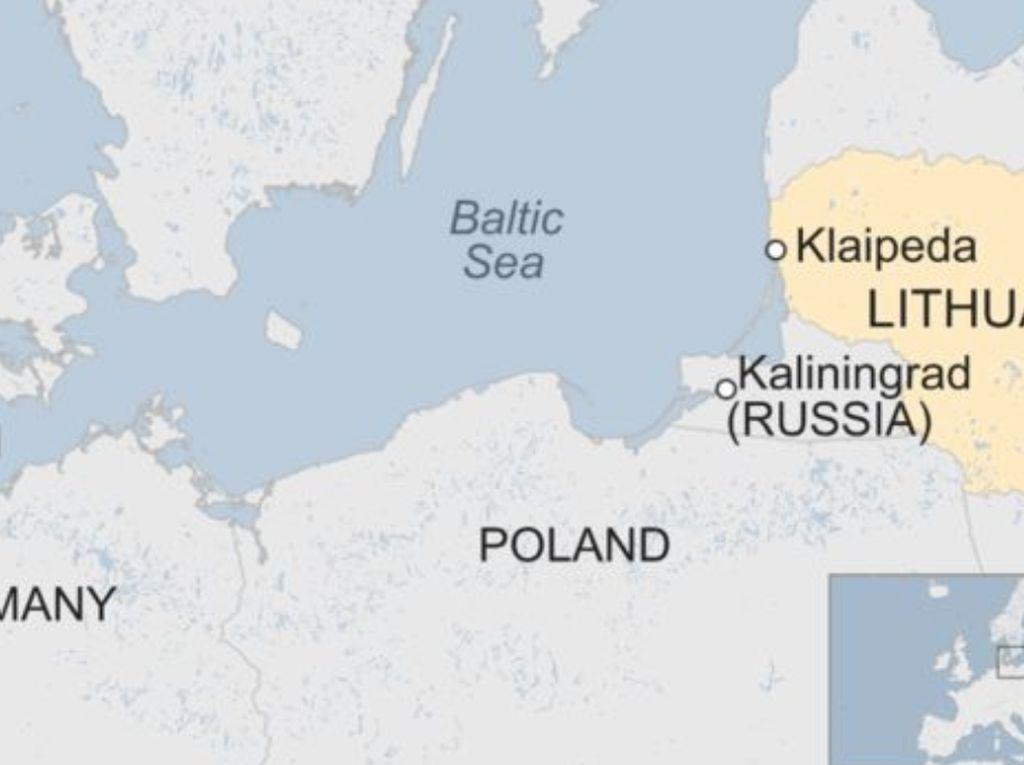 Kapal Feri yang Angkut 335 Orang Terbakar di Laut Baltik