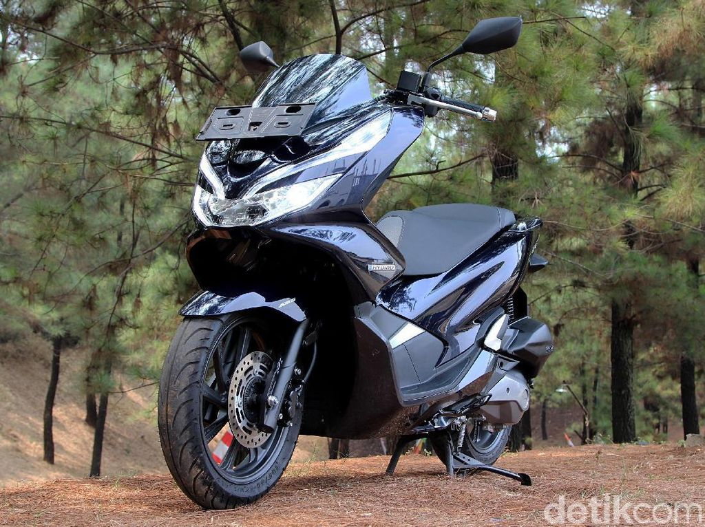Pembuktian Honda PCX Hybrid