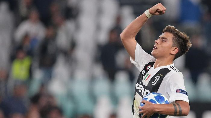 Paulo Dybala mencari gol pertama lawan Inter Milan di Serie A (Emilio Andreoli/Getty Images)