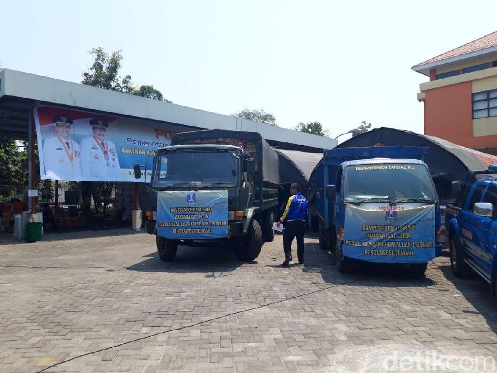 Pemprov Jatim Buka Posko Donasi Korban Gempa Palu-Donggala