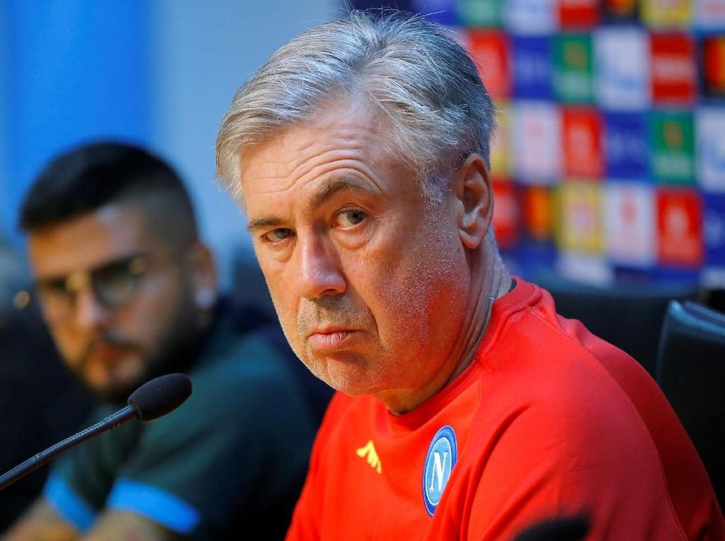 Terungkap! Cerita di Balik Pemecatan Ancelotti dari Napoli