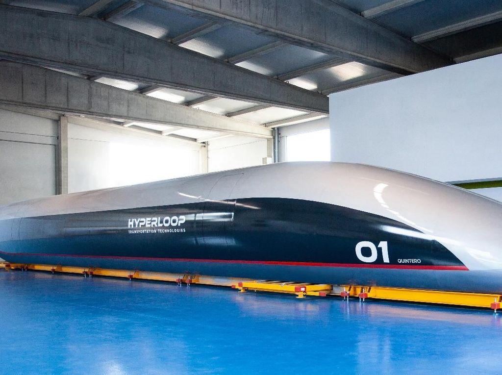 Kapsul Masa Depan Ini Bisa Ngebut 1.220 Km/Jam, Siap Meluncur 2019