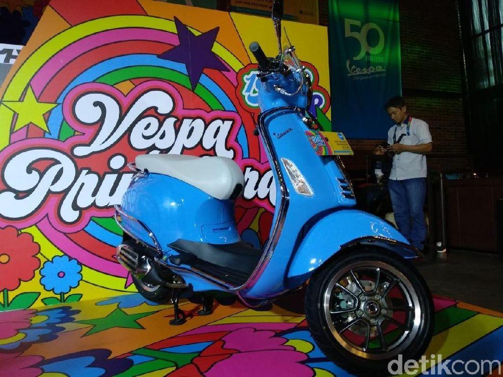 Kapan Vespa Primavera 50th Anniversary Bisa Dipesan?