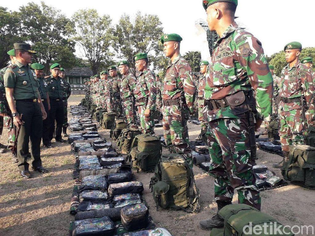 Yonif 403 Kerahkan 300 Prajurit Bantu Penanganan Gempa Sulteng